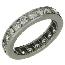 TIFFANY & CO. Diamond Platinum Band Ring $8925