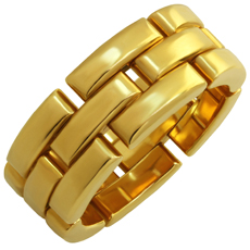 CARTIER Maillon Panthere 18k Yellow Gold Ring