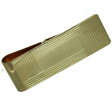 TIFFANY & CO. 14k Yellow Gold Money Clip