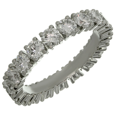 CARTIER Étincelle Diamond Platinum Wedding Band
