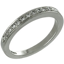 TIFFANY & CO. Diamond Platinum Wedding Band Ring