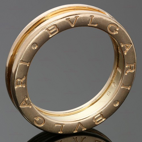 BULGARI B.Zero1 1-Band 18k Rose Gold Ring